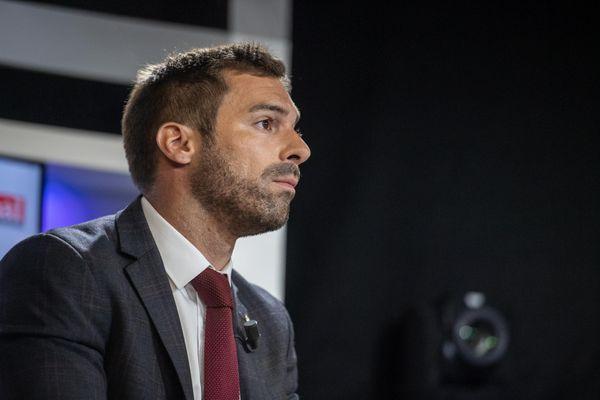 Julien Odoul, candidat du RN aux régionales 2021.