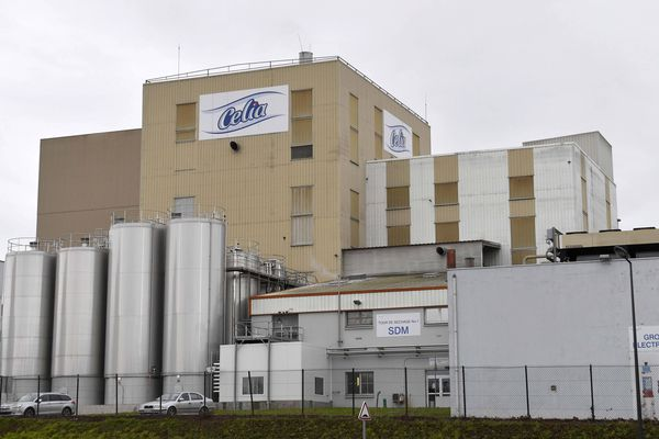 L'usine Lactalis de Craon (Mayenne) où ont été fabriqués les lots de poudre de lait pour bébé contaminés par la salmonelle