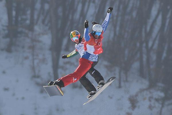 Le snowboardcross est la discipline favorite de Pierre Vaultier