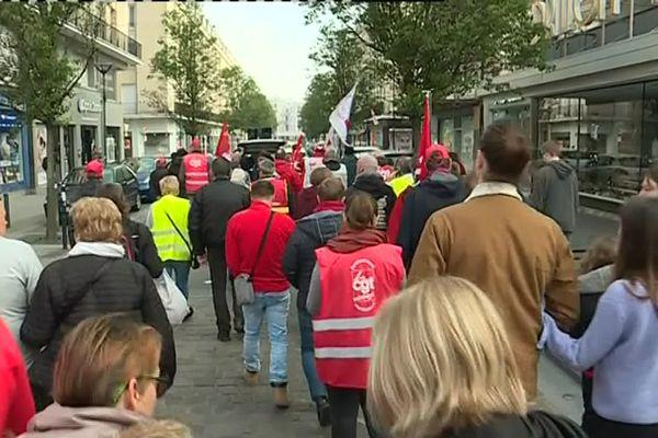 Manifestation du 1er mai 2019 à Lille
