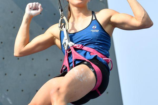 La Stéphanoise Anouck Jaubert tentera de décrocher une médaille en escalade de vitesse aux Jeux Olympiques de Tokyo. Sa discipline entre pour la première fois aux JO