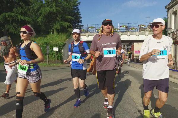 Des déguisements malgré la chaleur pour le marathon 2019 de Forges