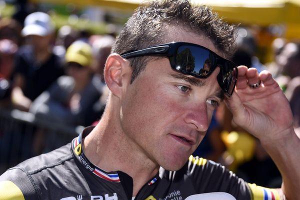Thomas Voeckler le 16 juillet dernier sur le Tour de France