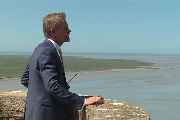 A 59 ans, Xavier Bailly l'administrateur du Mont-Saint-Michel va bientôt s'attaquer à un nouveau défi professionnel : la gestion du château de Villers-Côteret