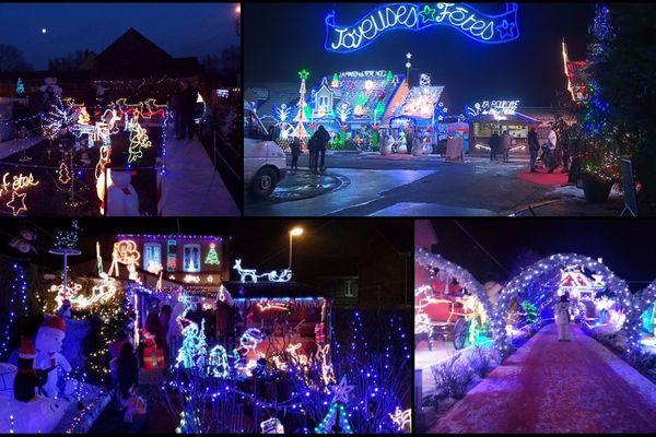 C'est déjà Noël dans le Nord et le Pas-de-Calais.