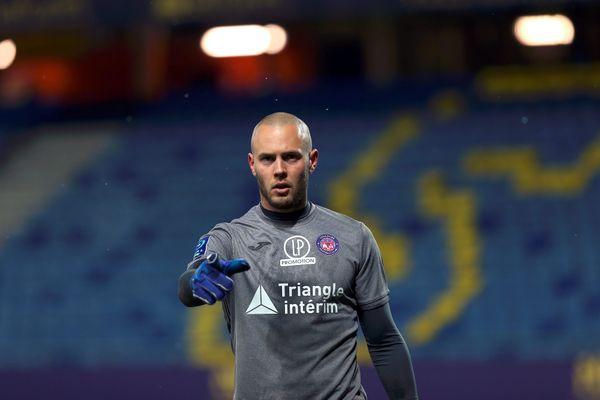 De retour dans les buts du TFC, le gardien titulaire Maxime Dupé a encore eu un rôle déterminant pour préserver la victoire toulousaine.