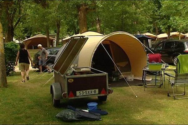 Les premiers juillettistes arrivent doucement dans les campings de l'Aveyron