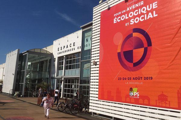 Pendant trois jours, le Parti Socialiste s'installe à l'espace Encan de La Rochelle pour le Campus 19.