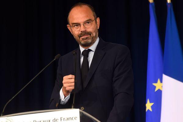 Le Premier ministre Edouard Philippe au Congrès des maires ruraux de France.
