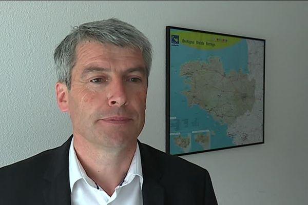 """Ollivier Allain, vice-président du conseil régional de Bretagne et candidat """"La République en marche"""""""