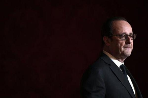 François Hollande à l'Élysée - 1er décembre 2016