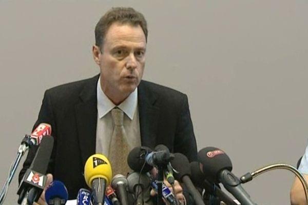 Eric Maillaud, le procureur de la République d'Annecy le 12 septembre 2012.