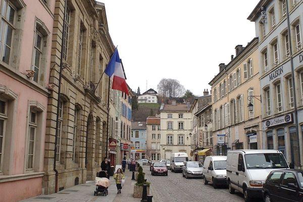 La mairie d'Epinal.