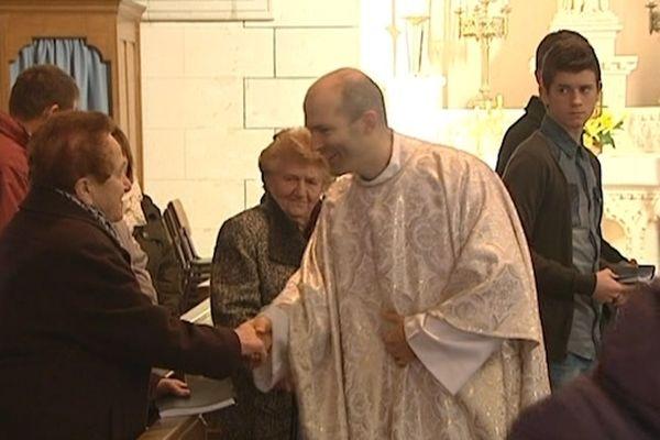 Le père Augustin Drillon à Ruffigné (44)