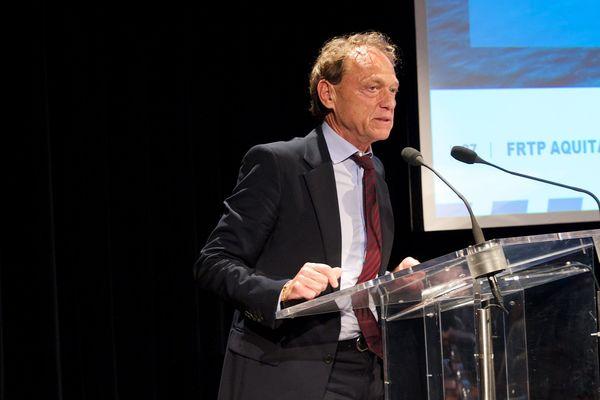 Christian Surget, président de la fédération régionale des travaux publics.