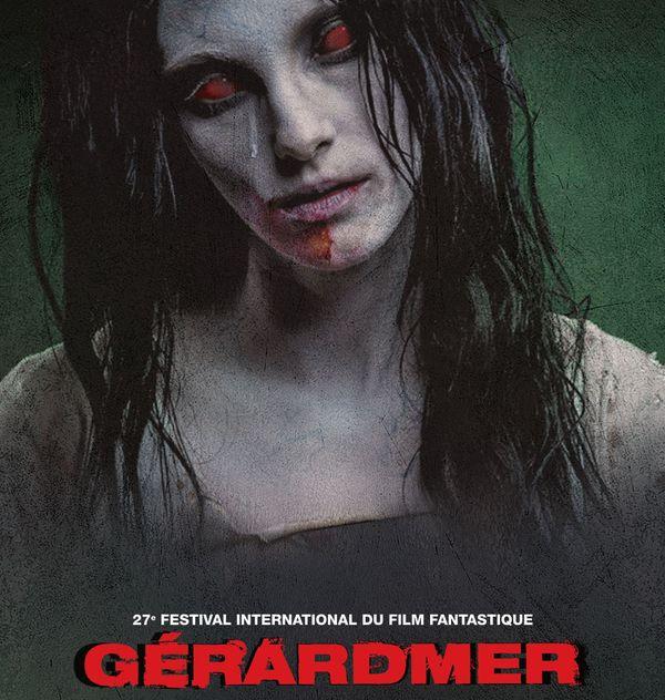 Les zombies à l'honneur sur l'affiche du affiche du 27e Festival International du Film Fantastique de Gérardmer (Vosges)