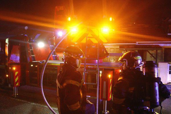 Photo d'illustration de sapeurs pompiers.