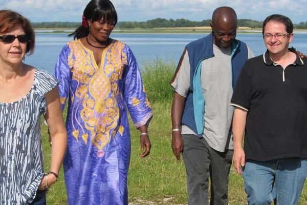 La délégation châlonnaise était en déplacement au Burkina pour apporter une aide à la scolarisation.