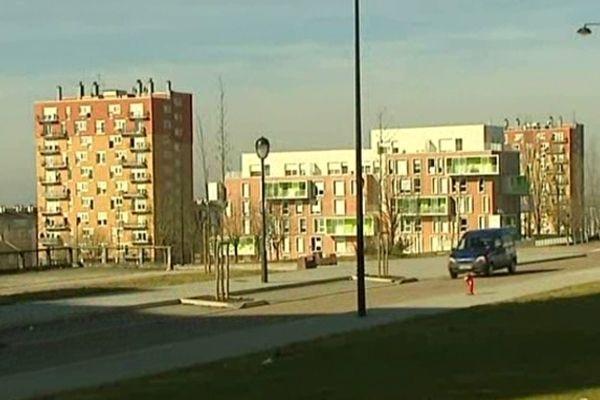 Quartier du Vert Bois, à Saint Dizier, nouvelle ZSP