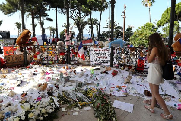 L'attaque au camion du 14 juillet 2016 a fait 86 morts sur la promenade des Anglais à Nice.
