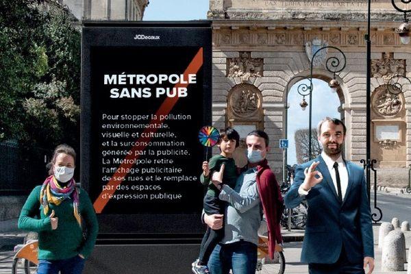 Montpellier - Une fausse affiche figure également dans le communiqué - 27.03.21