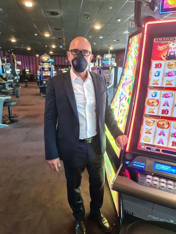 Alain Pistolesi, le directeur du Casino d'Antibes se dit prêt pour la réouverture