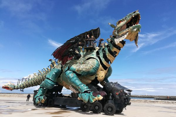 Le Dragon de Calais, le mercredi 19 mai