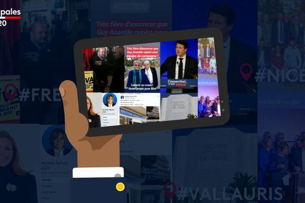Le Live-Hebdo des municipales 2020 semaine 4 (C. Estrosi, D.Rachline, G. Debras, M.Salucki, M.Damiano, JP. Dermit)