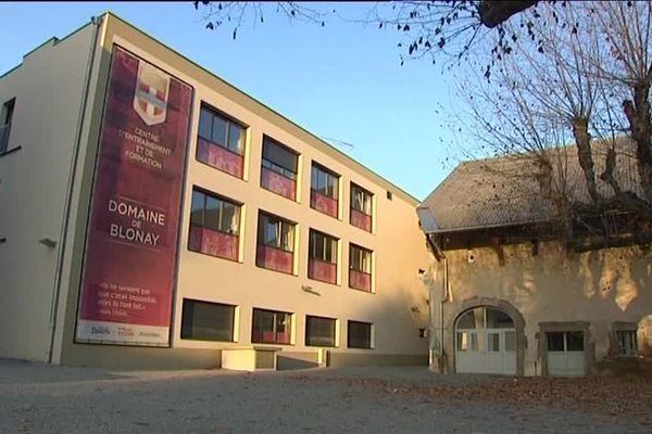 Le domaine de Blonay, ancien centre de formation de l'ETG.