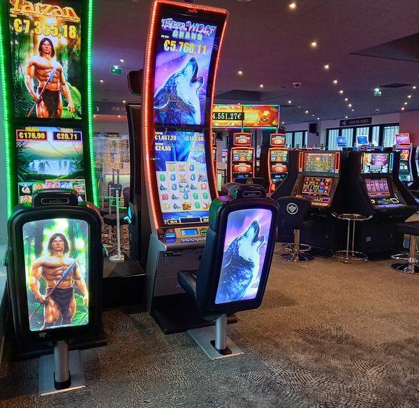 158 machines à sous et jeux de table électroniques seront à la disposition des joueurs.
