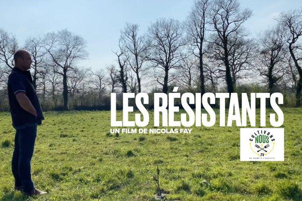 "Nicolas Fay présente sa web série, ""les Résistants"" / © Nicolas Fay"