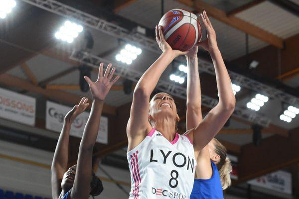 La présidente déléguée de l'ASVEL, Maris-Sophie Obama, a eu des mots forts pour porter les inquiétudes des deux équipes, et du basket féminin.