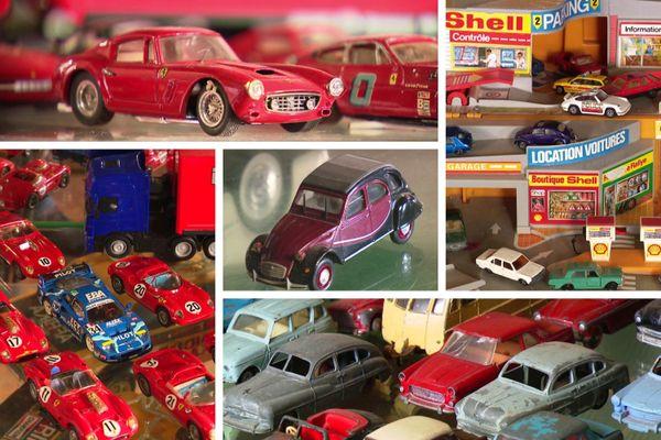 Les voitures miniatures ont aussi leur place dans les collections de Vroum
