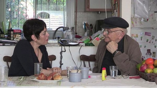 Valérie Zenatti, écrivaine et traductrice avec Aharon Appelfeld