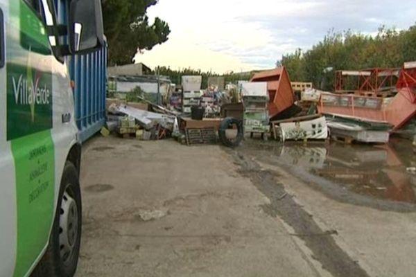 Dans cette jardinerie de Pia, les dégâts se montent à 220 000 euros.