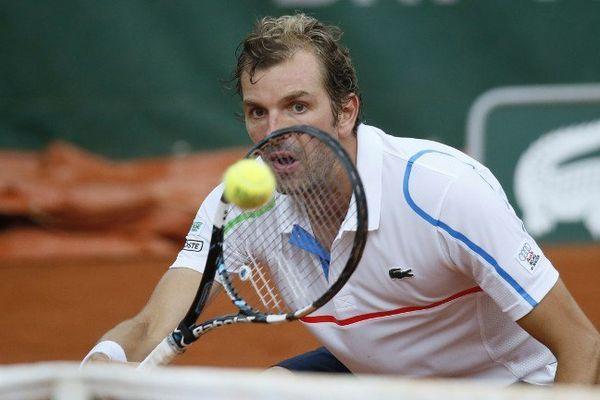 Le bressan Julien Benneteau (Roland-Garros - 26/05/14)