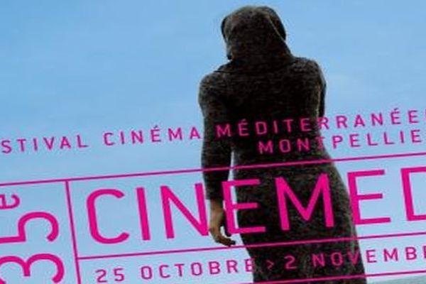 Affiche 2013 du 35e Cinémed à Montpellier