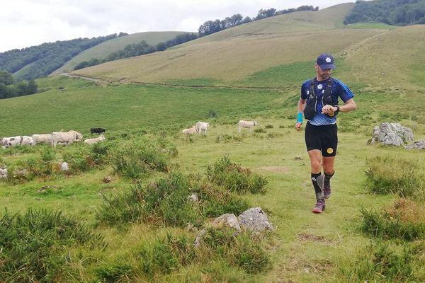Erik Clavery a établi un nouveau record sur le GR 10 dans les Pyrénées