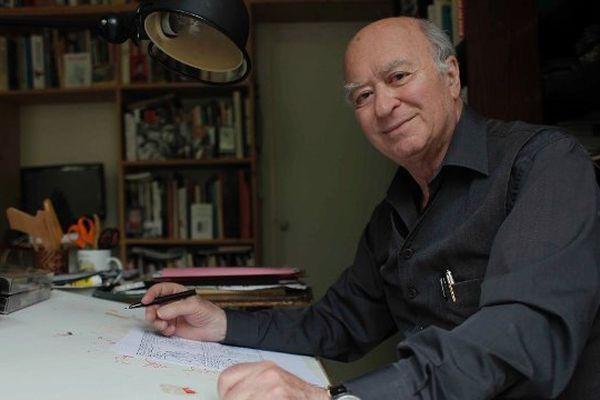 Georges Wolinski a été tué le 7 Janvier 2015 dans les locaux de Charlie Hebdo