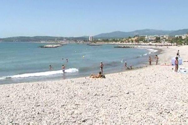La baignade est de nouveau autorisée sur toutes les plages à Saint-Laurent-du-Var.