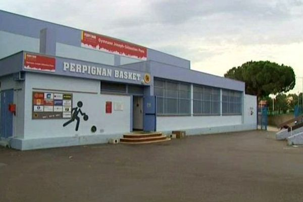 Les locaux du Perpignan basket - archives
