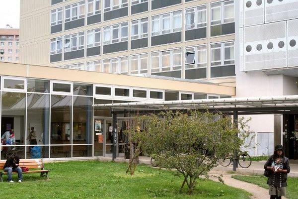 Un bâtiment de l'université de Nanterre.