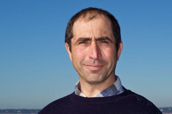 Thierry Lafon, ostréiculteur et président du comité régional de la conchyliculture