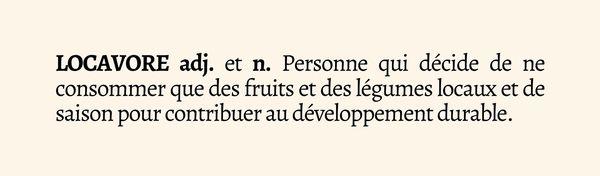 La définition est entrée dans le dictionnaire Larousse en 2010.