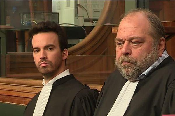 Maîtres Romain Profit et Éric Dupond-Moretti, défenseurs de Michel Duployé.