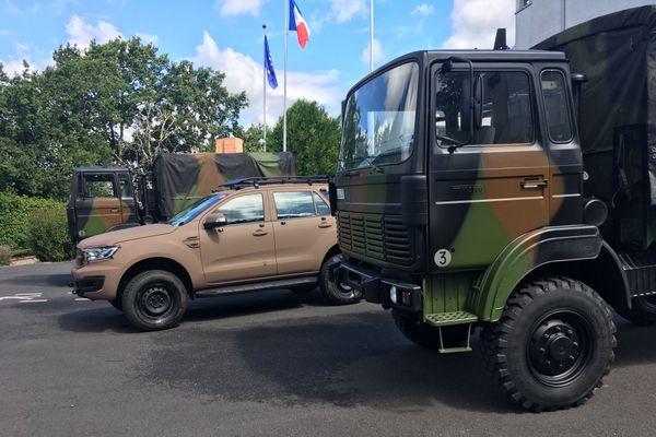 Depuis 1960, Acmat devenue Arquus Saint-Nazaire a acquis un savoir faire reconnu en matière de véhicules militaires