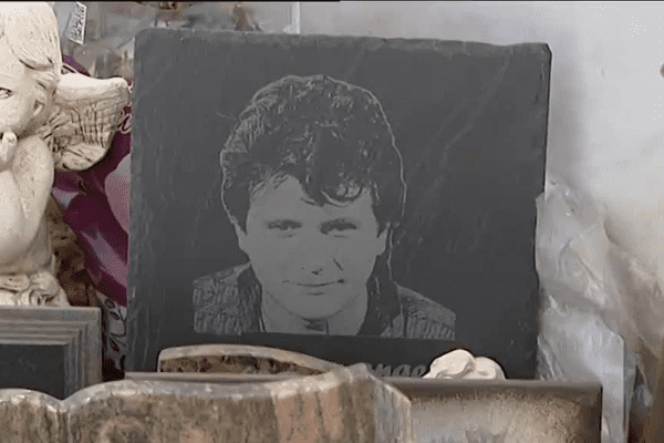 Daniel Balavoine a été inhumé à Biarritz.
