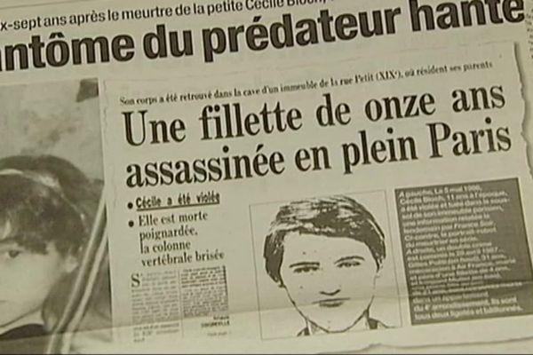 """L'assassinat de la petite Cécile Bloch, 11 ans, en 1986, a lancé l'affaire du """"Grêlé"""" qui s'est suicidé dans le Gard le 29 septembre 2021. 35 ans après le drame."""