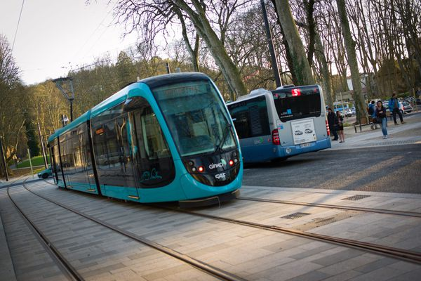 Le tramway de Besançon