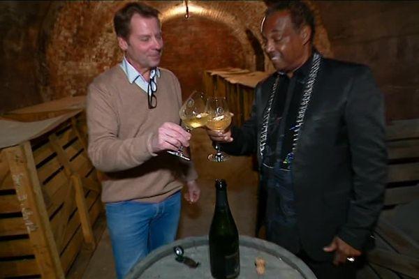 Le groupe Kool & The Gang s'est offert sa propre cuvée de champagne en partenariat avec la maison Berthelot